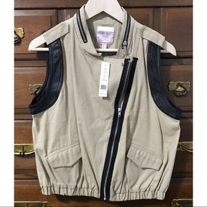 Romeo & Juliet Couture Vest Jacket NWT